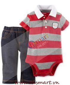 Carters Polo Bodysuit and Jegging Cambodia
