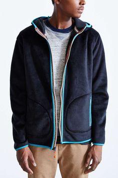 Koto Polar Fleece Zip Hoodie Sweatshirt
