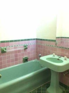 Cute bathroom in a San Francisco apartment