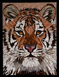 Tiger - Glass Mosaic