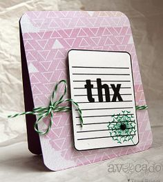 @Tenia Nelson created this card using both A Mother's Love and When & Where stamp sets!  Fabulous!!