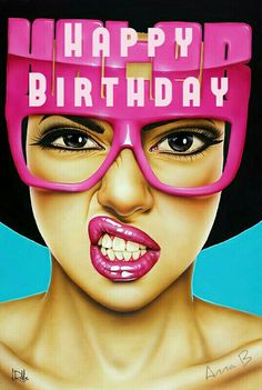 My Happy Birthday edit | artist Scott Rohlfs