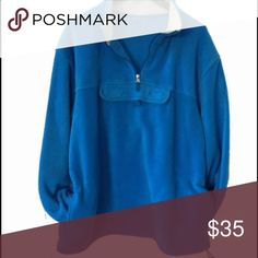 Big thick comfy fleece top Looks unused! Guessing size L - tags cut Jackets & Coats Performance Jackets