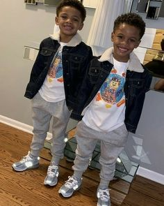 They are too handsome 😍 Baby Boy Swag, Kid Swag, Cute Baby Boy, Cute Little Baby, Pretty Baby, Cute Baby Clothes, Cute Mixed Babies, Cute Black Babies, Black Baby Girls