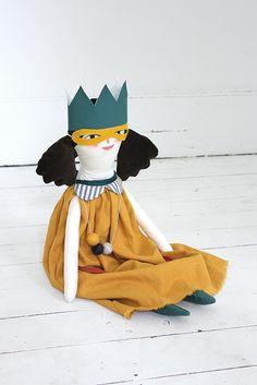 Beth - handmaid, hand painted doll by merrilee liddiard