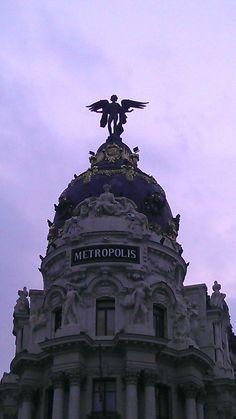 Metrópolis Madrid, My Love, Movies, Movie Posters, Cities, Films, Film Poster, Cinema, Movie