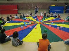 Parachute Games for Kids Popcorn Balls Summer Camp Activities, Music Activities, Activity Games, Activities For Kids, Motor Activities, Gym Games, Camping Games, Camping Ideas, Tent Camping