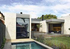 Prahran House By Rob Kennon Architects Local Australian Architecture & Design Prahran Melbourne Image 2 Australian Architecture, Australian Homes, Residential Architecture, Contemporary Architecture, Interior Architecture, Interior Design, Brighton Houses, Boarding House, Clerestory Windows
