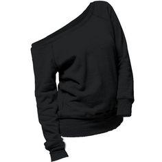 Wholesale Chic Women's Pure Color Skew Neck Long Sleeve Sweatshirt Only $8.58 Drop Shipping | TrendsGal.com