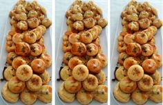 pecivo_z_nivy - My site Appetizers For Party, Appetizer Recipes, Snack Recipes, Cooking Recipes, Snacks, Slovak Recipes, Czech Recipes, New Recipes, Sweet Desserts