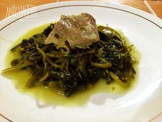 La Antojadera | Verdolagas en salsa verde con carne de puerco