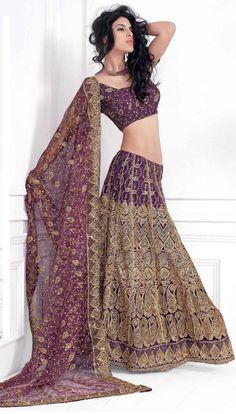 New Bollywood Actress Stunning Replica Wedding Bridal Lengha Choli, Lengha Saree, Saree Sari in Purple Color(RCD XLNS 8002-A) on Etsy, $84.99