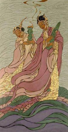 The Lotus Goddesses ; 1931 ; Bertha Lum