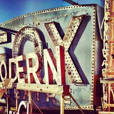 Vintage Neon #typography