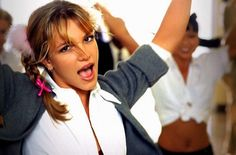 """Little Mix's Perrie Re-Created Scenes From Britney's """"Baby One More Time"""" Video"""