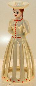 #2 Tall White Napkin Doll