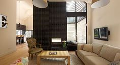 Double Sided View Radiante 846 2V Fireplace   Cheminees Philippe perfect for indoor/outdoor heating and ambience. www.chemphilaust.com.au