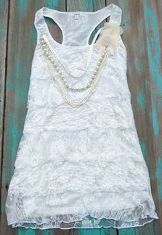 Trendy Cowgirl Lace Top
