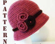 Symbol Crochet PATTERN and Colorful step by step por DaisyEzyCraft Crochet Adult Hat, Diy Crochet, Vintage Crochet, Crochet Baby, Crochet Hook Sizes, Crochet Stitches, Crochet Hooks, Crochet Patterns, Sombrero A Crochet