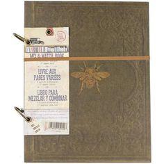 "7 Gypsies - Architextures 2-Ring Mix & Match Book 8.5""""X11"""""