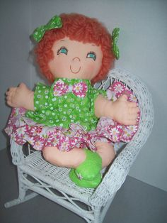 Cloth Doll PDF Pattern Ginger Snap Easy Soft by PeekabooPorch, $9.00