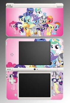 My Little Pony MLP Friendship is Magic Fluttershy Twilight Sparkle Rarity Rainbow Dash Video Game Vinyl Decal Cover Skin Protector #2 Nintendo DSi XL $10.63 Your #1 Source for Video Games, Consoles & Accessories! Multicitygames.com