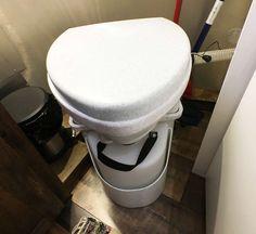 Natures Head Toilet, Composting Toilet, Airstream Bathroom, Airstream Renovation