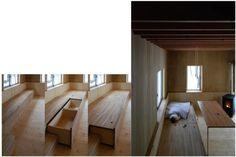 Mueble modular banco cama
