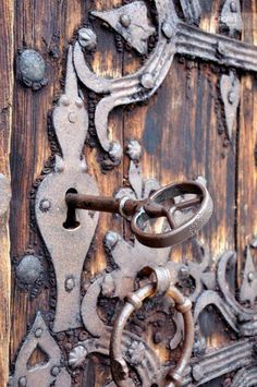 Vintage door hardware