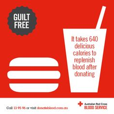 Donate Blood, Save Life, Burn Calories! | FABULOUS RED