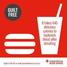 Donate Blood, Save Life, Burn Calories! | FABULOUS RED