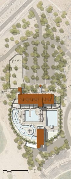 McDowell Mountain Ranch Park & Aquatic Center,Site Plan