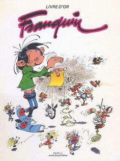 (AUT) Franquin -4- Livre d'or Franquin - BD