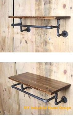 Best Industrial Pipe Furniture Designs for A Cool and Chic Home Decor – B. - Best Industrial Pipe Furniture Designs for A Cool and Chic Home Decor – BosiDOLOT - Industrial Bedroom Furniture, Pipe Furniture, Shabby Chic Furniture, Rustic Furniture, Vintage Furniture, Furniture Design, Furniture Decor, Furniture Stores, Cheap Furniture