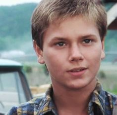 Even at this age he was lovely you know he was gonna be good looking