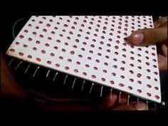 Do-it-yourself LED matrix - YouTube