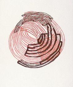 'wolfecut.3' (2009) by American artist Anna Hepler (b.1969). Woodcut. via the artist on flickr