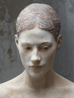 Bruno Walpoth's wood sculpture