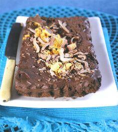 [Resep] Rykmansdubbelsjokoladetert | Maroela Media Pudding Desserts, Pudding Recipes, Easy Desserts, Dessert Recipes, Dessert Ideas, Delicious Cake Recipes, Sweet Recipes, Yummy Food, Kos