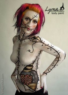 really cool body paint