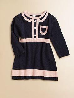 Egg Baby Girls Pocket Sweater Dress
