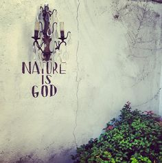 NATURE IS GOD Hx
