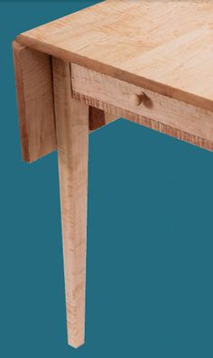 How to Build a Classic Shaker-Style Drop Leaf Table - Free Woodworking Plans