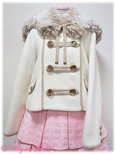 AP - Napoleon Short Coat - Ivory