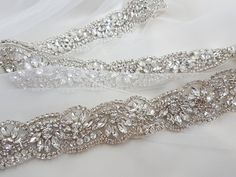 Wedding sash bridal sash bridal trim wedding by MagnificenceBridal