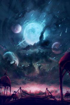 Moonshower by Kamikaye on DeviantArt