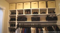 Master Closet Makeover (Part 2) | Confessions of a Serial Do-it-Yourselfer
