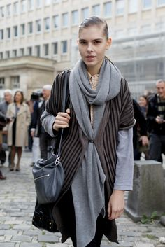 street style #winter ready #layer #fashion