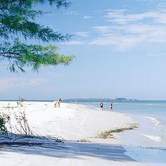 Shell Island, Panama City Beach, Florida - where I got the worst sunburn of my life!
