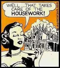 "I can remember my grandmother saying ""I'm going to burn this damn house down"" whenever it needed some odd repair . thought it was funny then. Think it's funny now. You Smile, Pop Art Vintage, Just In Case, Just For You, Funny Quotes, Funny Memes, Bitch Quotes, Funny Cleaning Quotes, Cleaning Cartoon"